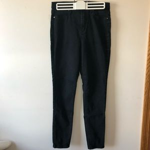 RSQ L.A. super high rise ankle length black jeans